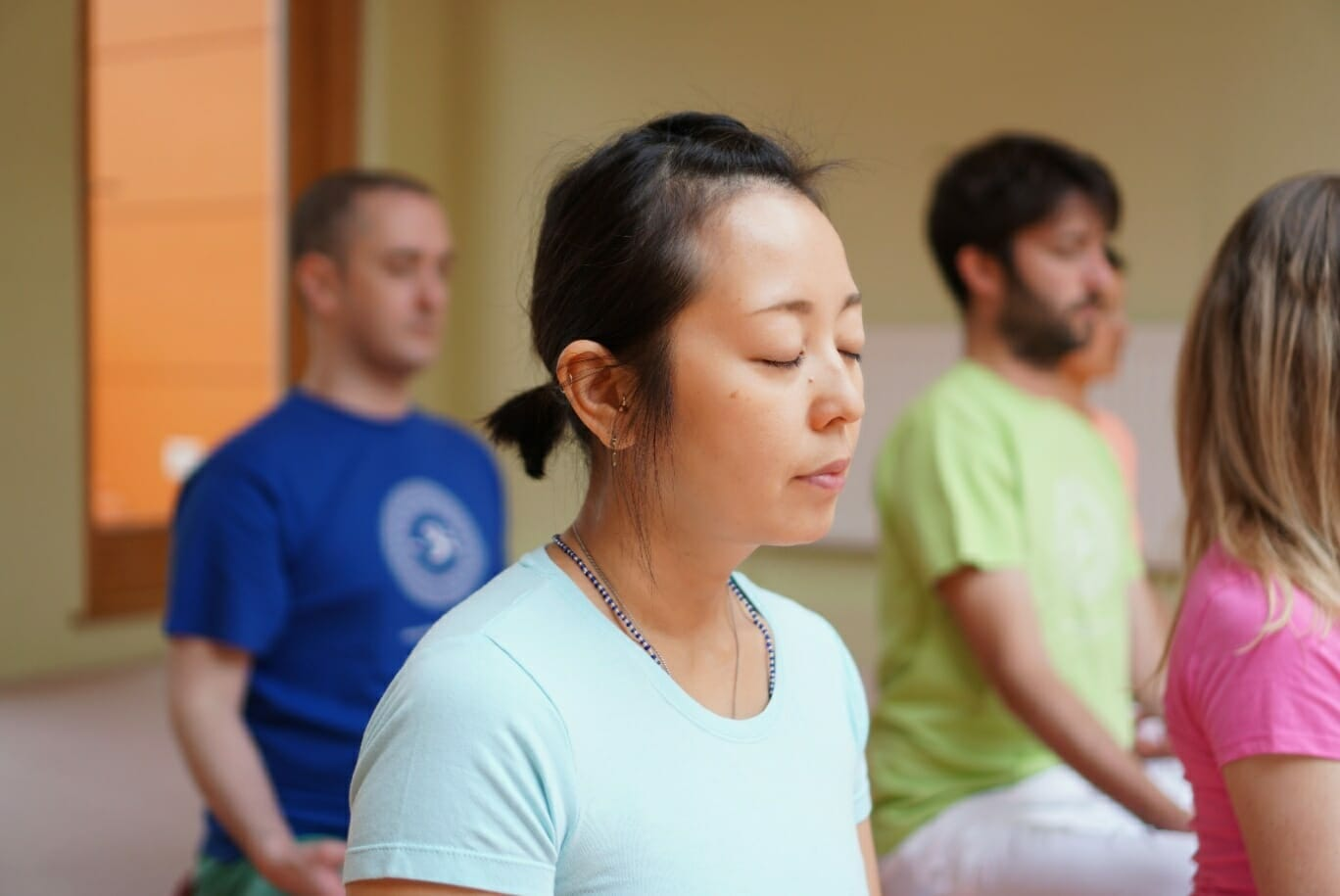 Free Group Meditation