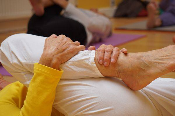 "<span style=""color: #ffffff;"">Gentle Yoga Class</span>"