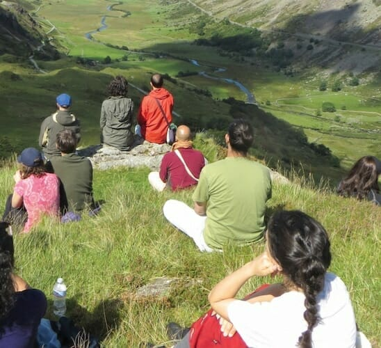 """<div style=""""line-height: 1.3; color: #ce402d; font-family: catamaran; """">Summer Yoga & Meditation Retreat: Snowdonia National Park, North Wales</div>"""