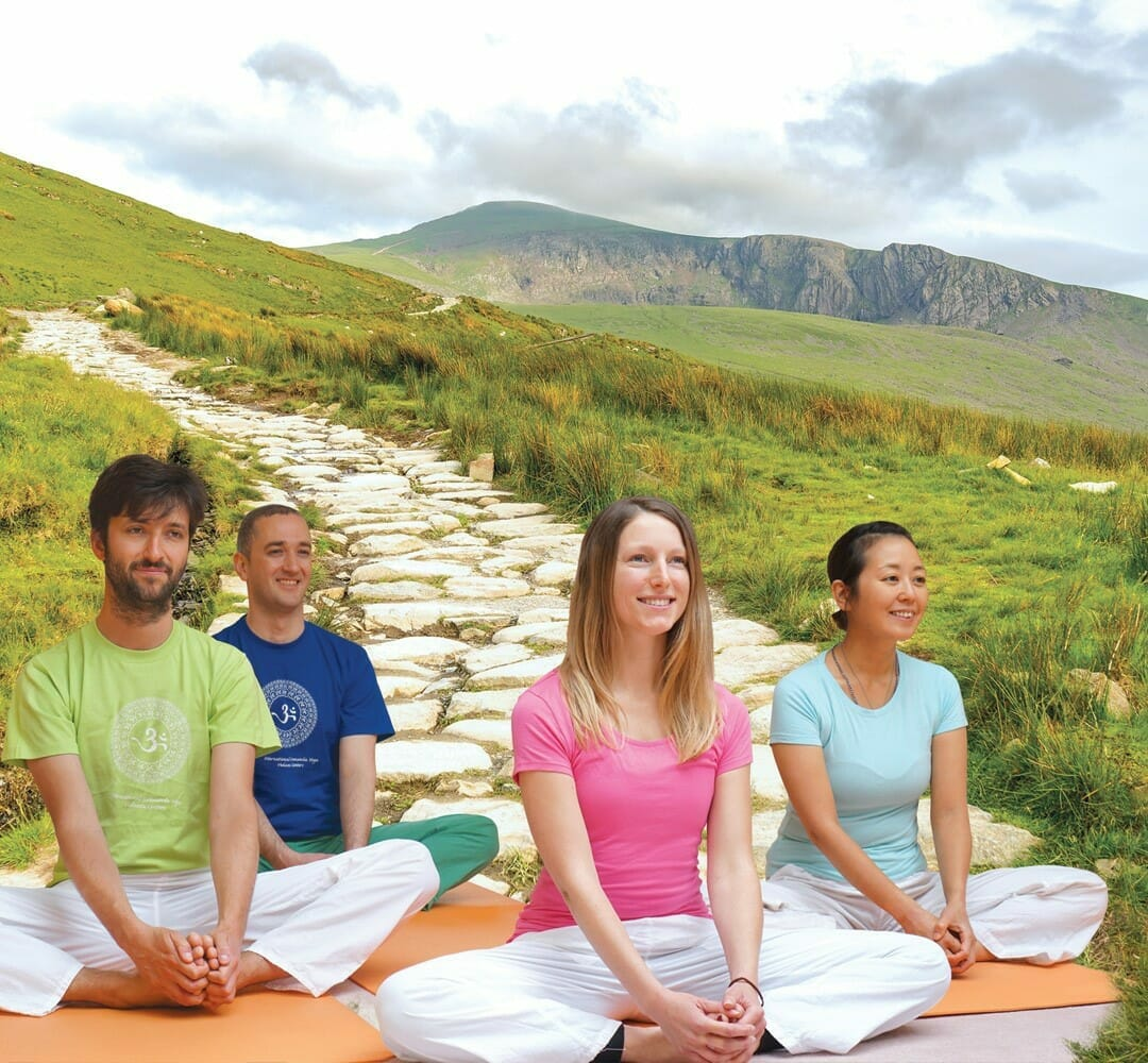 "<div style=""line-height: 1.3; color: #ce402d; font-family: catamaran; "">Summer Yoga and</br>Meditation Retreat</br>Snowdonia National Park </br>in North Wales</div>"