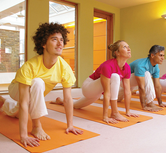 "<div style=""line-height: 1.3; color: #ce402d; font-family: catamaran;"">Open House </br>An afternoon of yoga and meditation</div>"