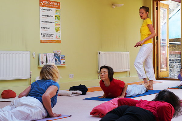 Further Training for Yoga Teachers