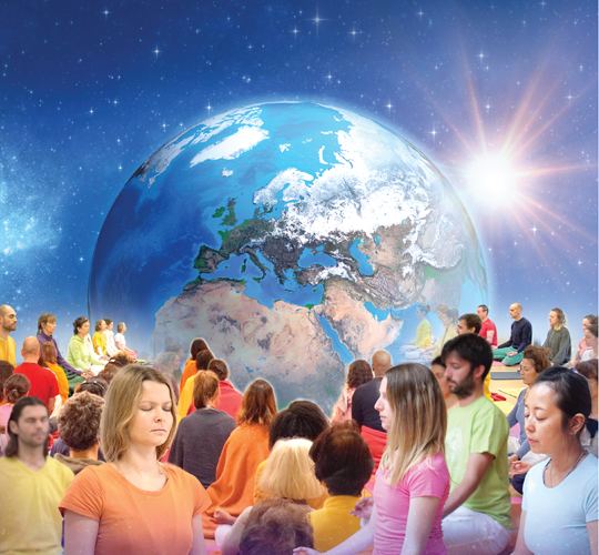 """<div style=""""line-height: 1.3; color: #ce402d; font-family: catamaran; """">Meditation: Unite for a healthy planet</br></div>"""